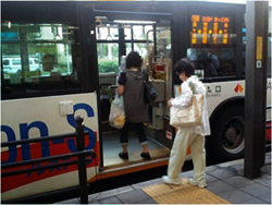 ノンステップバスの導入について 堺市